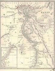 1835 - Ägypten 35 x 41cm