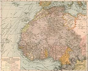 1905 - Northwestern Africa