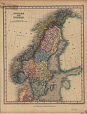 1838 - Sweden and Norway (Replica)