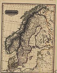 1825 - Sweden, Norway & Denmark