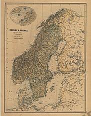 1865 - Sweden & Norway (Replica)