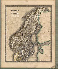 1841 - Sweden and Norway