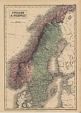 1854 - Sweden & Norway