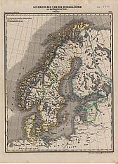 1850 - Scandinavien und die Ostseeländer seit dem Westphälischen