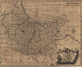 1760 - Südwest Deutschland (Replikat)