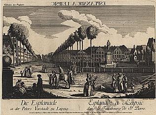1760 - Leipzig 49 x 40cm