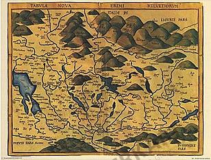 1520 - Tabvla Nova Eremi Helvetiorum (Replica)