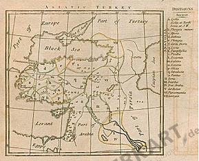 1793 - Völker der asiatischen Türkei 21 x 21cm