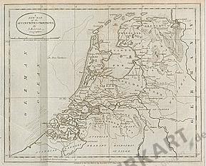 1783 - Niederlande (Replikat) 34 x 26cm