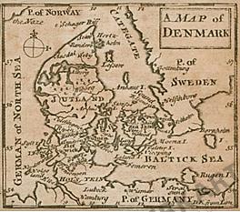 1744 - Dänemark (Replikat) 8 x 7cm