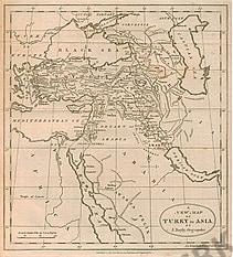 1782 - Turkey in Asia 26 x 33cm