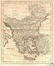 1784 - Turkey and East Europe 26 x 33cm