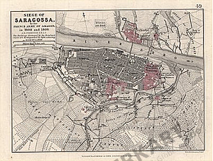 1852 - Siege of Saragossa by the French Army