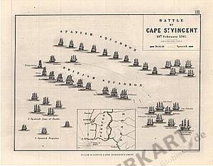 1797 - Battle of Cap St. Vincent (Replikat)