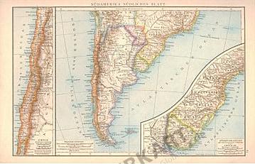 1881 - Southern South America (Replica)