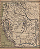1859 - Western States of the USA