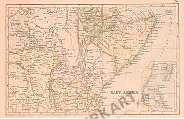1890-1910 - East Africa (Replica)