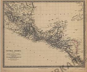 1835 - Central America I (Replica)