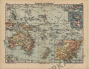 1933 - Australien und Polynesien