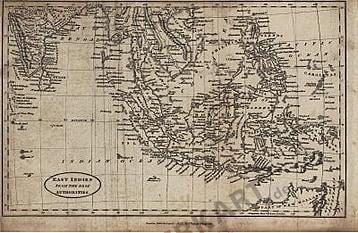 1823 - Ost-Indien