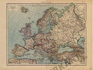 1881 - Europa Politisch (Replikat)