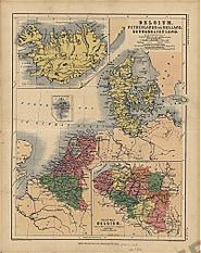 1850 - Belgium, Netherlands or Holland, Denmark & Iceland (Replica)