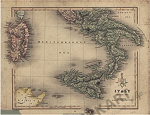 1858 - Italy (Southern Part)
