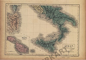 1854 - Italy (South Part)
