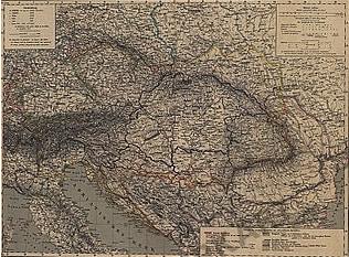 1856 - Ungarn, Österreich