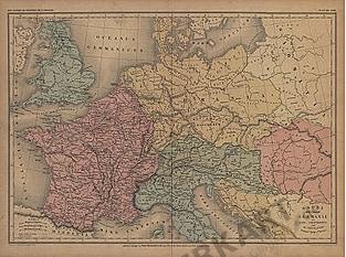 1865 - Gaulle Bretagne Germanie et pays Limitrophes