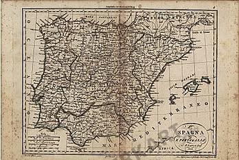 1812 - Spagna E Portogallo