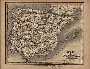 1831 - Spain & Portugal