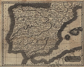 1819 - Spain & Portugal