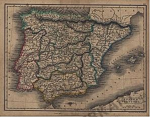 1822 - Spain & Portugal