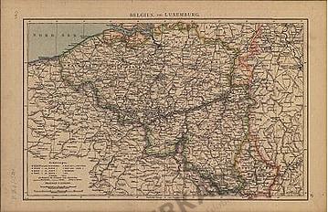 Belgien & Luxemburg (Replikat)