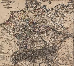 1855 - Deutschland, Niederlande, Belgien und Schweiz