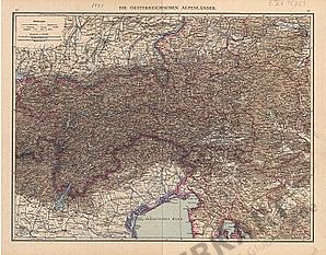 1881 - Die Oesterreichischen Alpenlaender (Replica)