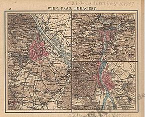 1881 - Wien, Prag, Buda-Pest (Replica)