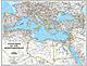 Landkarte Mittelmeerländer