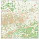 City map Dortmund and surrounding areas 125 x 125cm