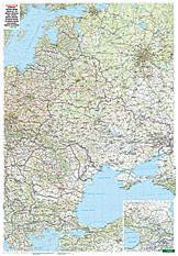 Osteuropa Landkarte 86 x 123cm