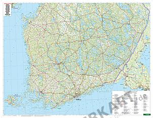 Finnland Karte Landkarte