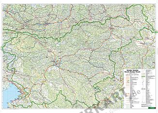 Slowenien Karte