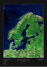 Skandinavien Poster