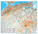 Algerien Landkarte 99 x 88cm