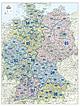 Telefonvorwahl (AVON) Karte Deutschland