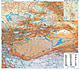 China Nordwest Landkarte