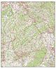 Digitale Rheinland-Pfalz / Saarland Karte