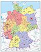 Digital political Germany Map
