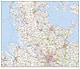 Digital Map of Schleswig-Holstein